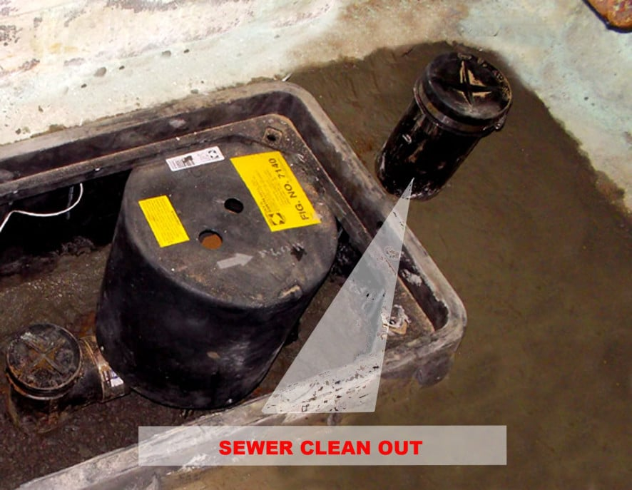 sewer clean out