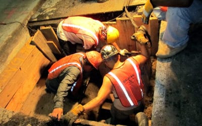 New York Sewer Repair Work Performed All Night Long, Mission Accomplished