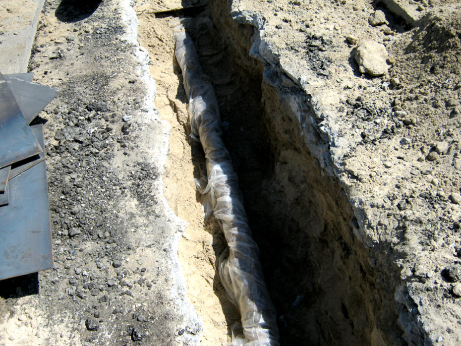 outdoor pipe insulation