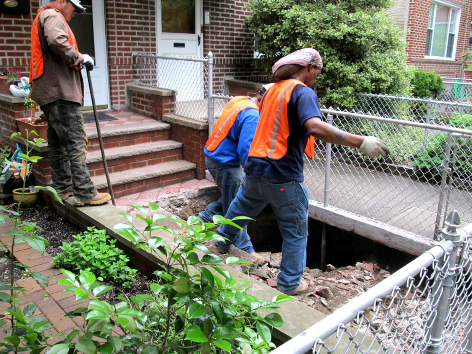 sewer sinkhole