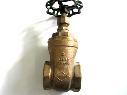 brass water valve