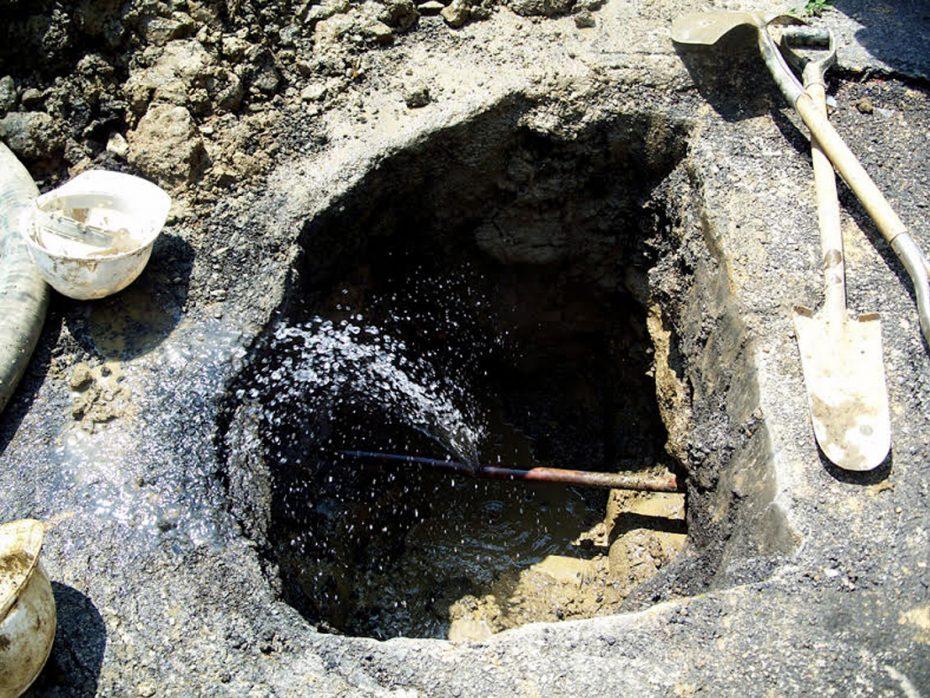 underground water line leaks