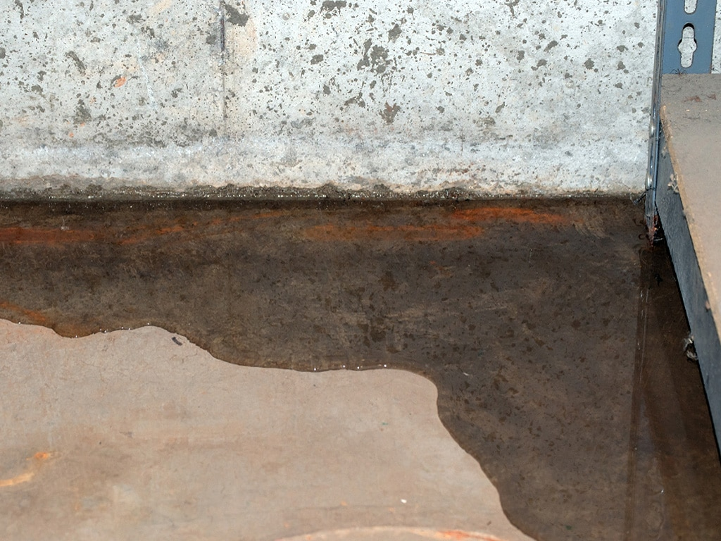 Underground Water Line Leak