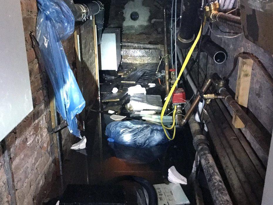 Underground Water Line Repair Manhattan Flooded