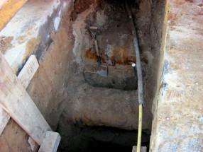 open excavation