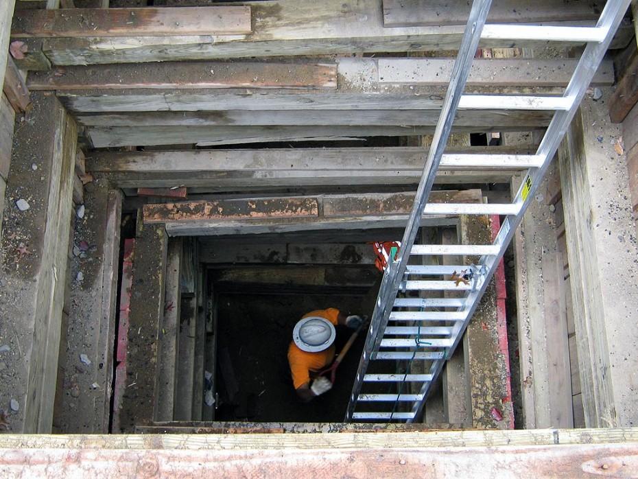 Water Heater Repair Excavation