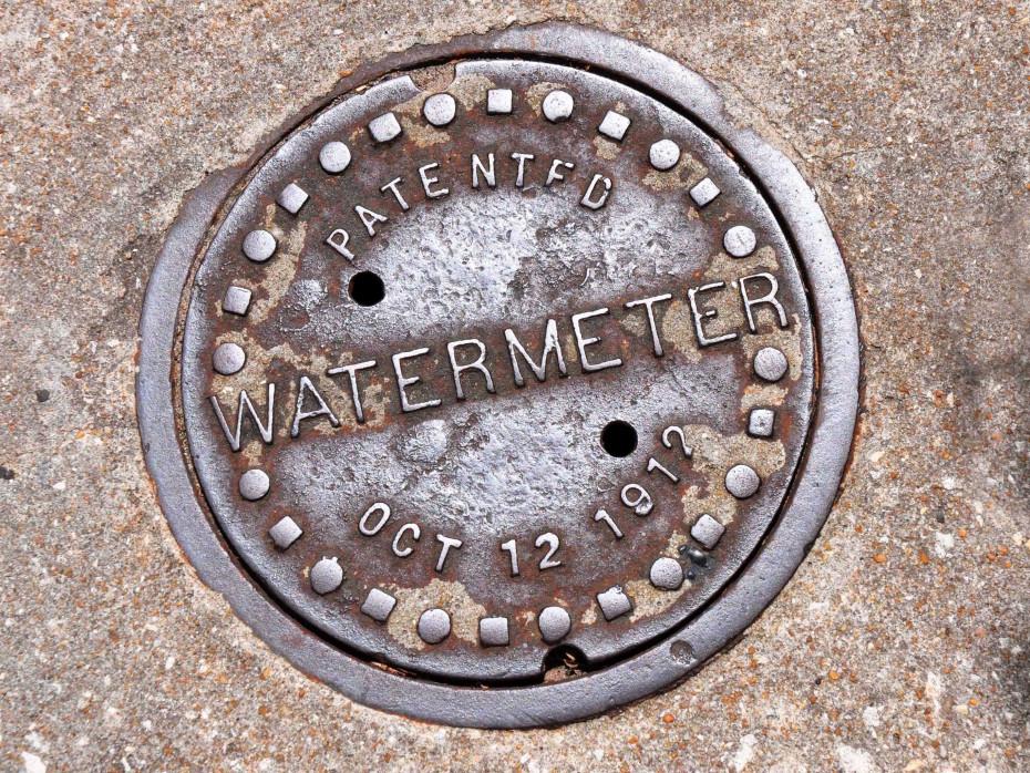 outside water meter