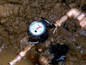 metering water