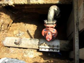 main water valve