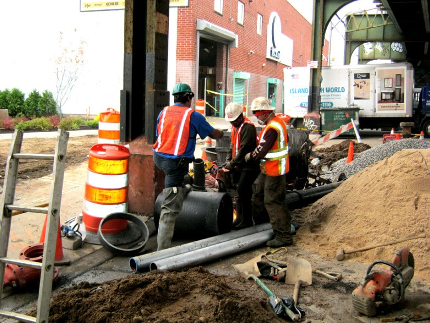 NYC water main contractor